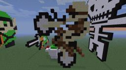 Motocross Minecraft Map & Project