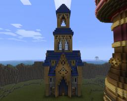 Fantasy / medieval manor Minecraft Map & Project