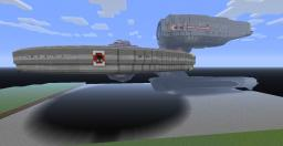 USS Kelvin 1:1 Minecraft Map & Project
