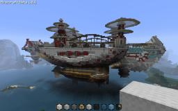 XII Catoblepas Destroyer-Class Airship Minecraft Map & Project