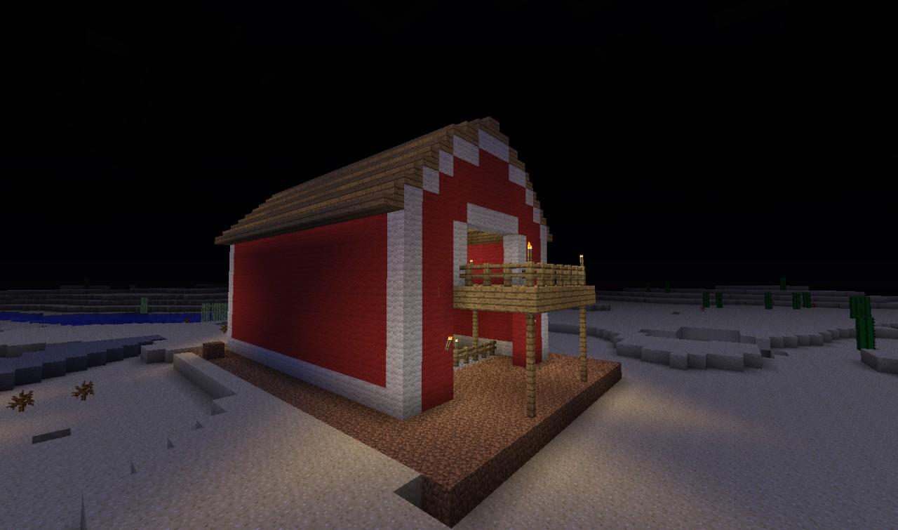 Big Barn Minecraft Project