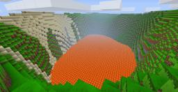 Volcano! [Beautiful Scenery] Minecraft Map & Project