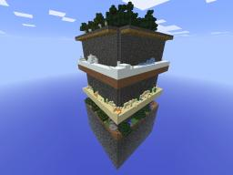 Minecraft 2D CUBE Survival challenge! Updated today! Minecraft Map & Project