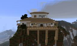 Clean Modern Mountain House Minecraft Map & Project