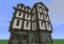 Medieval styled Inn Minecraft Map & Project