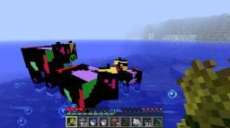 Awkward Neon Cows Minecraft Texture Pack