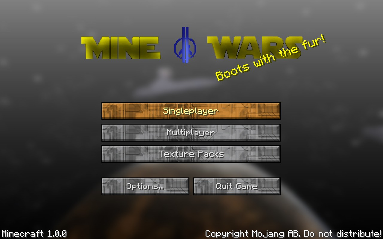 Mine wars a star wars texture pack minecraft texture pack mine wars a star wars texture pack sciox Image collections
