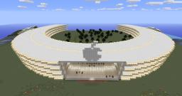 Apple's New Spaceship Headquarters Minecraft Map & Project