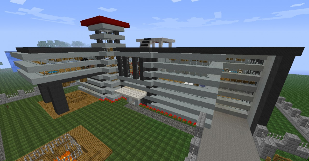Villas minecraft project - Minecraft villa ...
