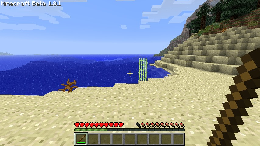 how to get a stick in minecraft