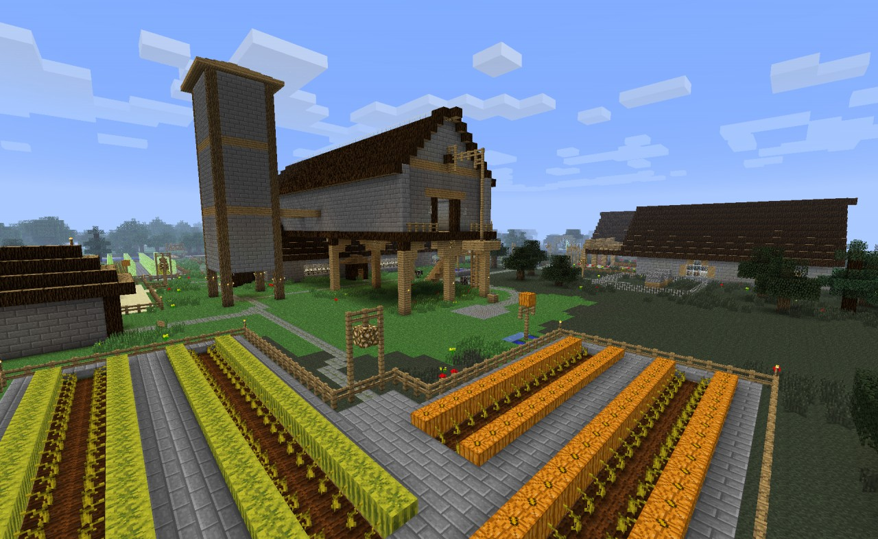 Seven Crop Farm Minecraft Project