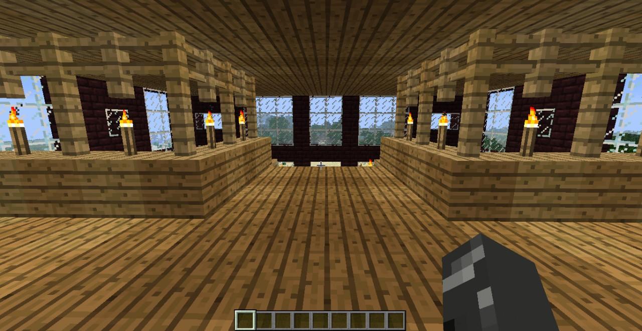 Nether Brick House Minecraft Project
