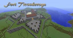 Fort Ticonderoga Minecraft Map & Project