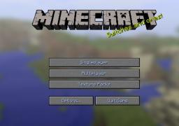 Nice Blue Font Colour Minecraft Texture Pack