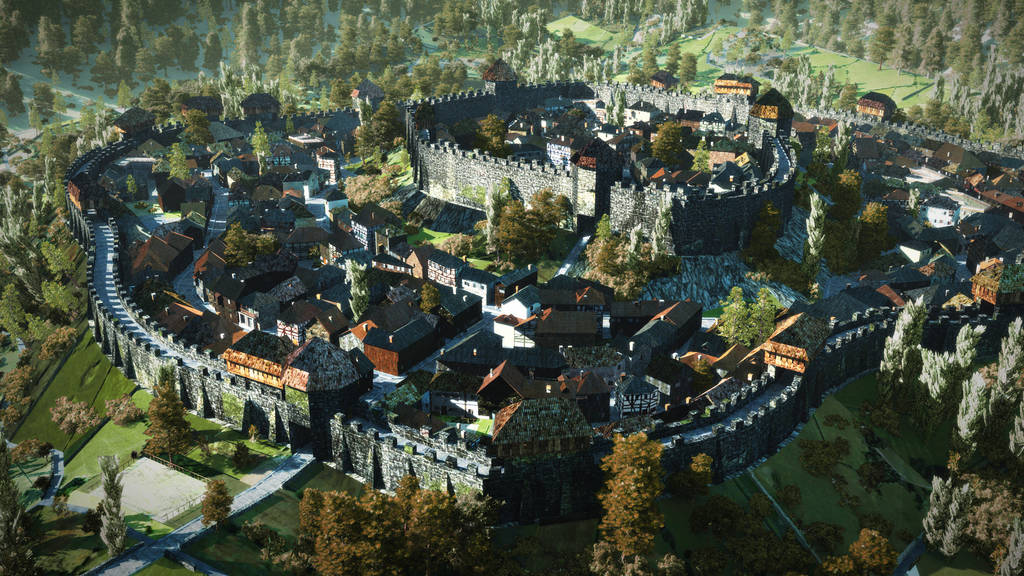 Huge Medieval City Ii Includes Video Minecraft Project