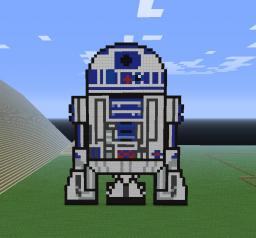 R2-D2 Minecraft Map & Project