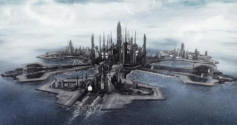 Stargate Atlantis Stadt