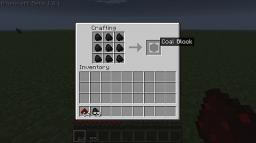 Block Space! (Turn Materials into blocks) Minecraft Mod