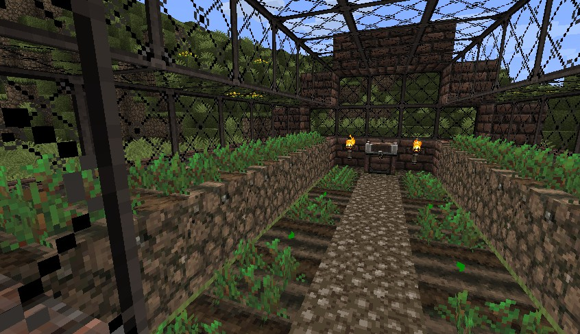 greenhouse minecraft project