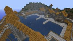 High Elven Village and Port by Joshcvb Minecraft Map & Project