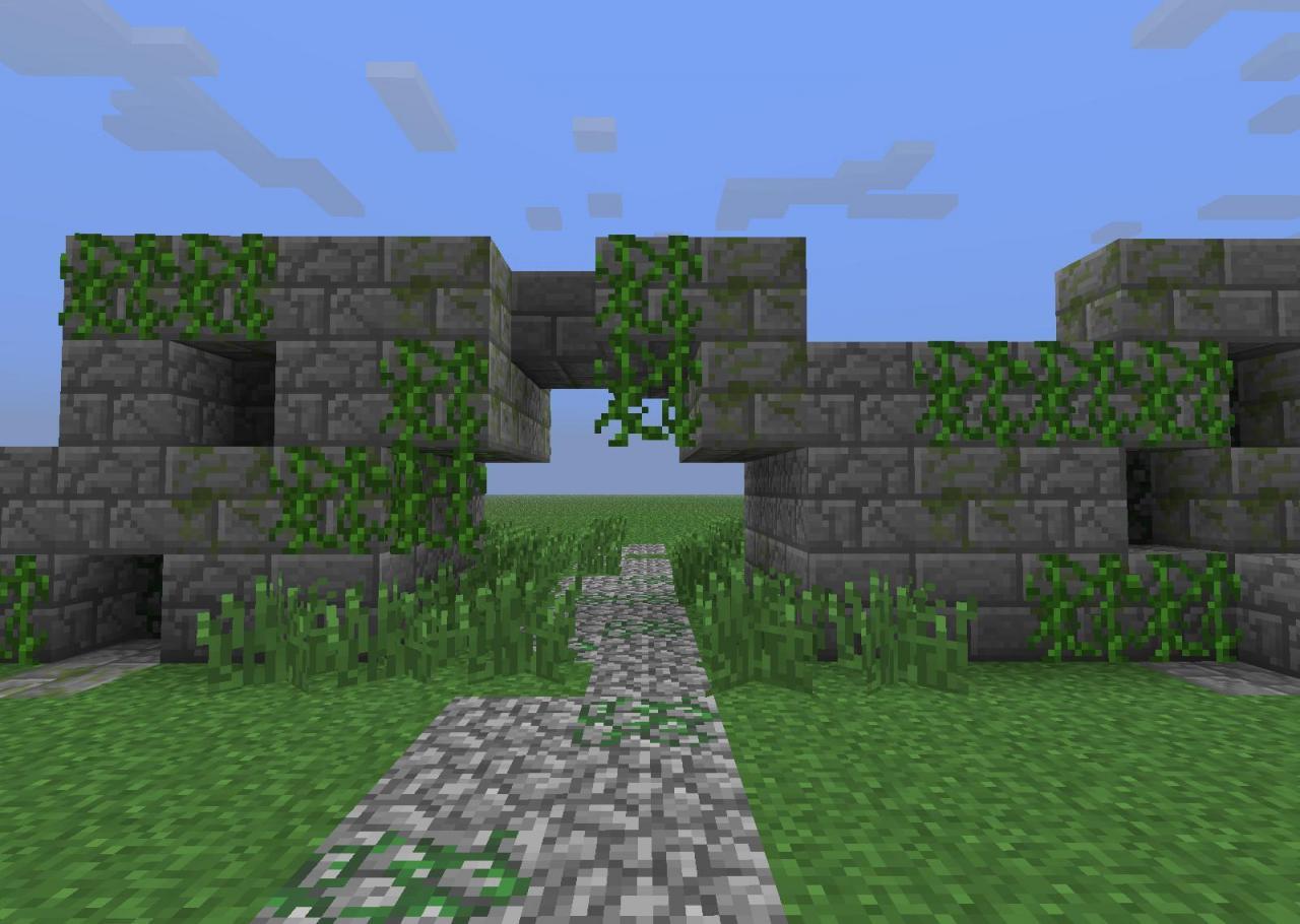 мод ruins для майнкрафт 1 11 2 #9