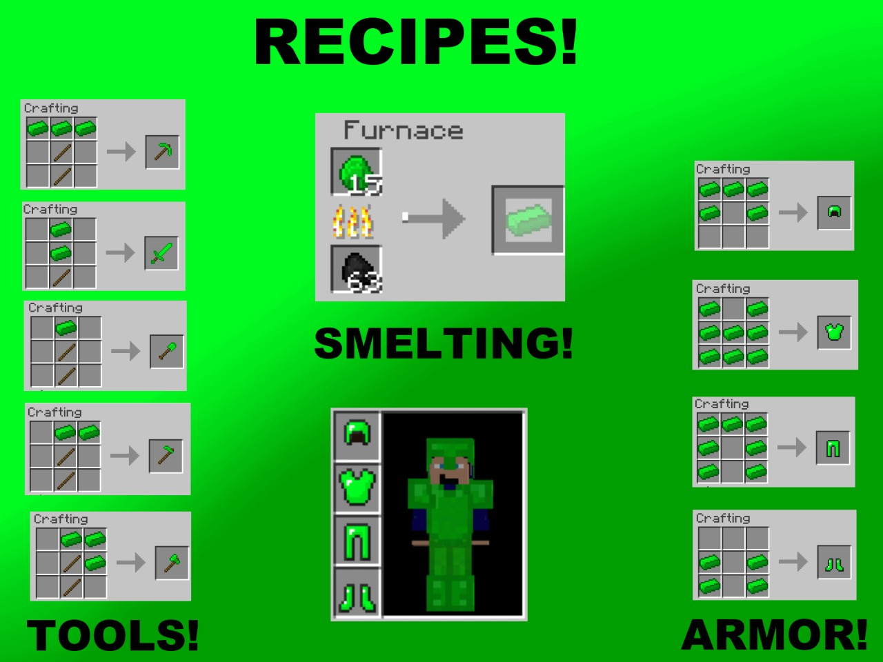 Minecraft Crafted Mobs
