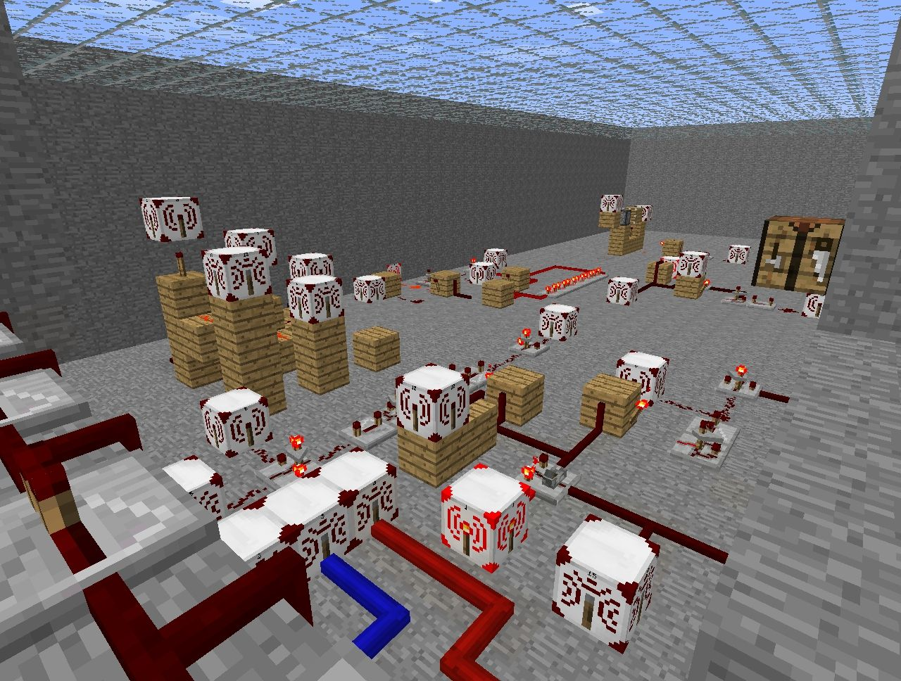 The redstone.