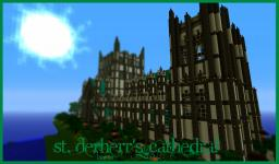 St. Derherr's Cathedral Minecraft Map & Project