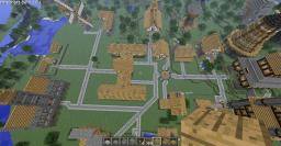 Server Map Minecraft Map & Project