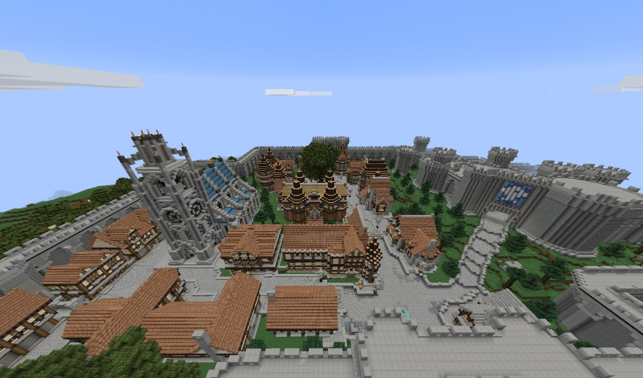 Castle Oblivion Minecraft From Oblivion Minecraft