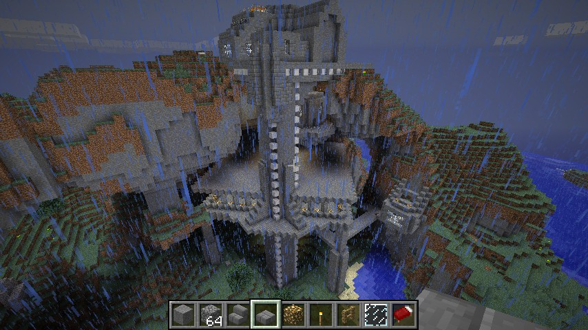 Mountain Fortress Minecraft
