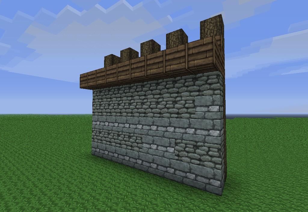 Modulair Medieval: Walls Vol. 1 Minecraft Project