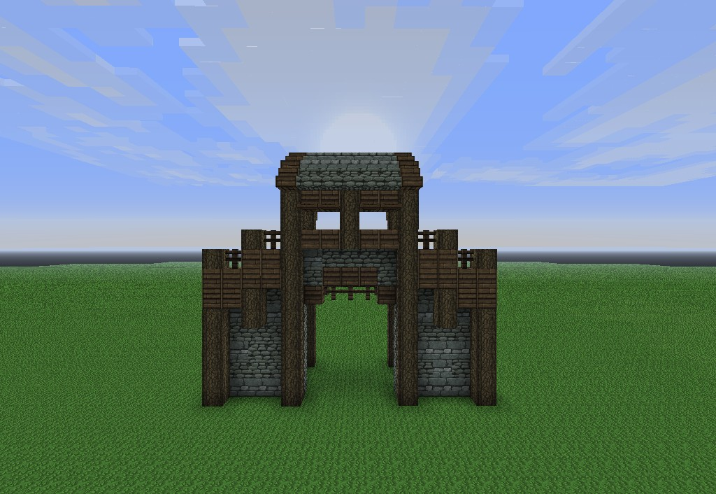 Modulair Medieval: Walls Vol. 1 Minecraft Project