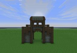 Modulair Medieval: Walls Vol. 1 Minecraft Map & Project