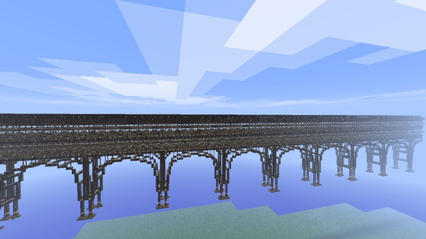 stilt bridge - Minecraft Japanese Bridge