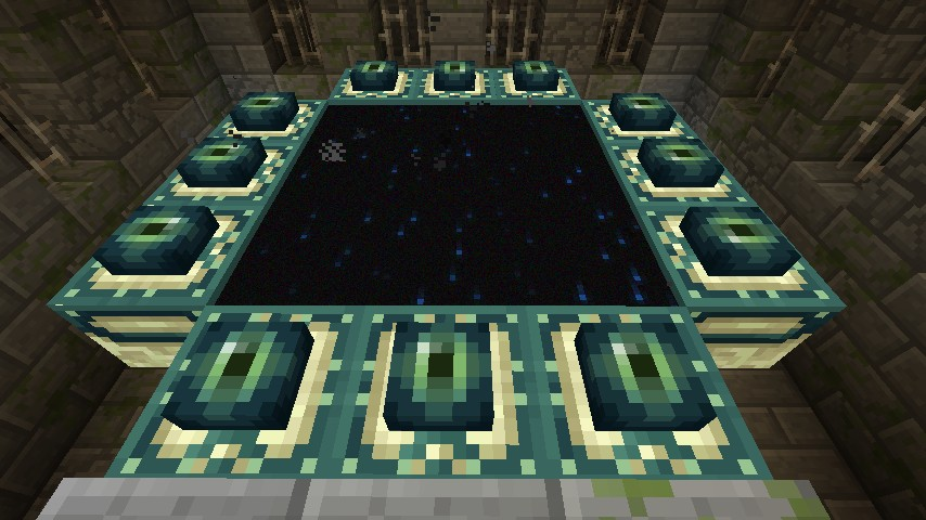 End Portal Stronghold Minecraft Project