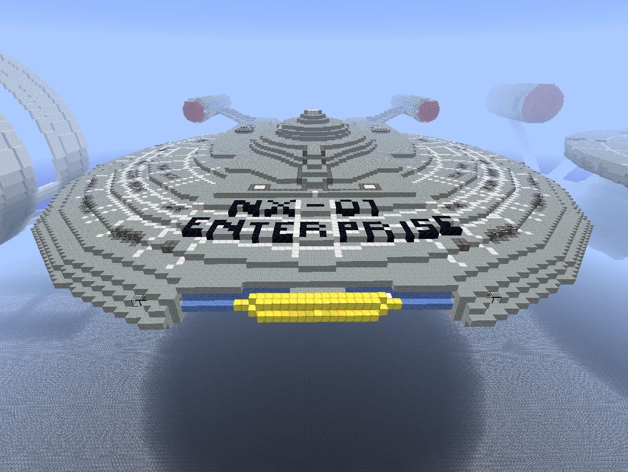 Starship enterprise minecraft download