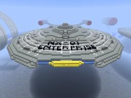 USS Enterprise NX-01 Explorable (1:1 Scale) Minecraft Project