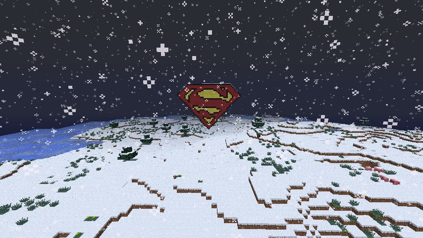 Superman logo - From a distance