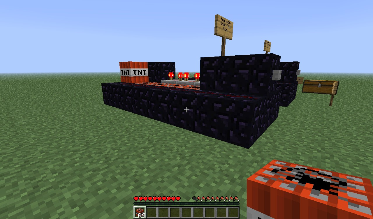 how to Build a TNT Cannon TUTORIAL Minecraft Project