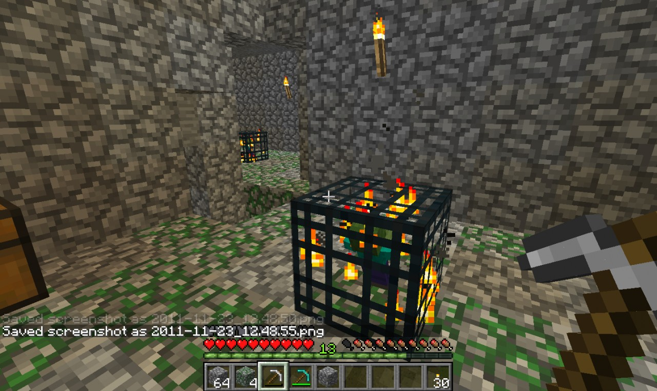 how to make an exp farm with a spawner