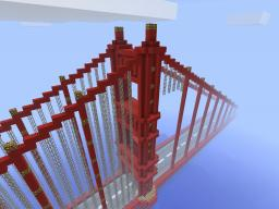 Golden Gate Bridge Minecraft Map & Project