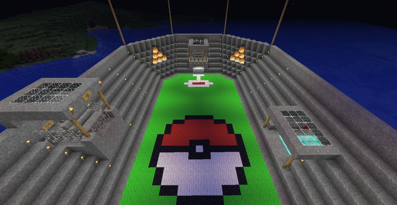 Pokemon Battle Arena Minecraft Project