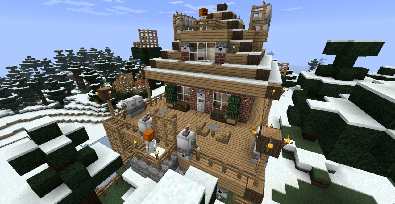 Winter House Minecraft Project