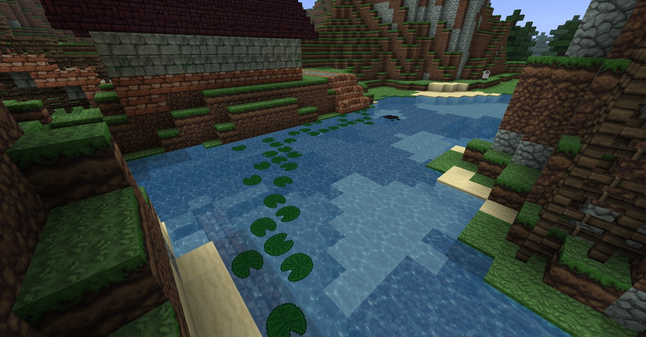 how to grow lily pads in minecraft
