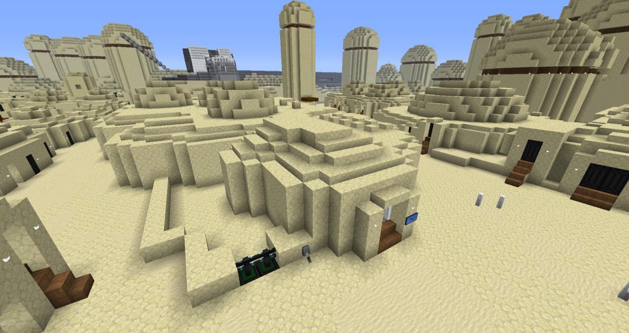 Mos Eisley Cantina Minecraft Project