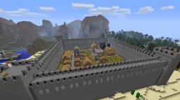 Minecraft village fort Minecraft Map & Project