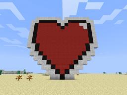 Form This Way Heart Minecraft Map & Project