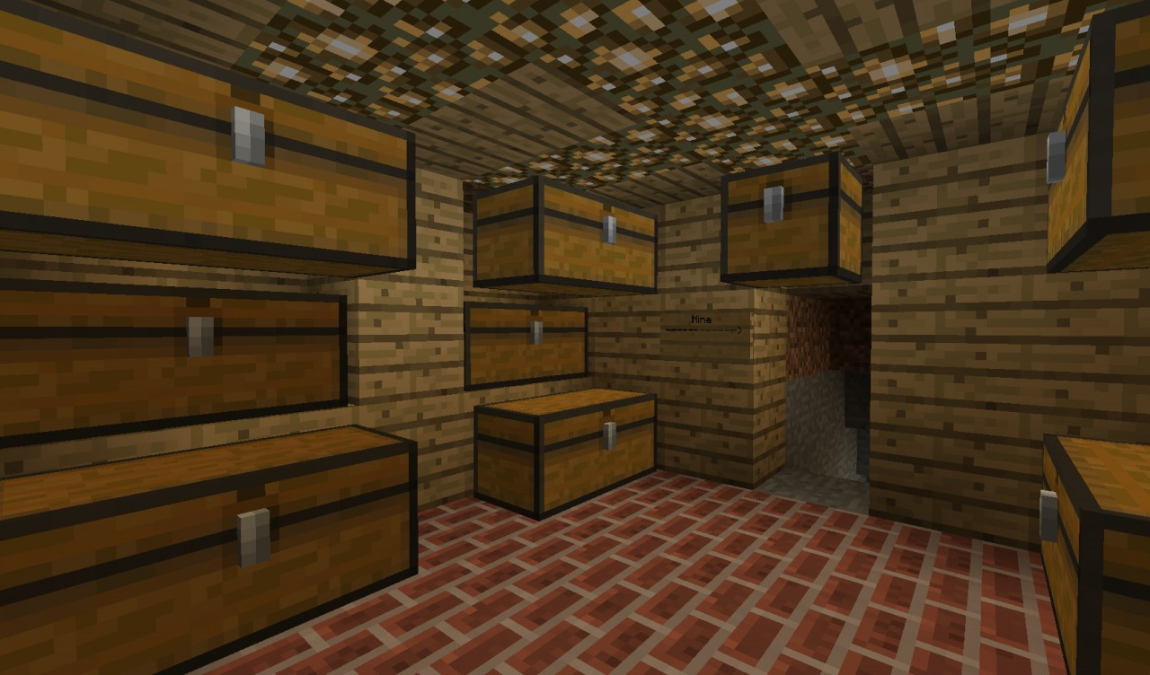 miner hous minecraft project