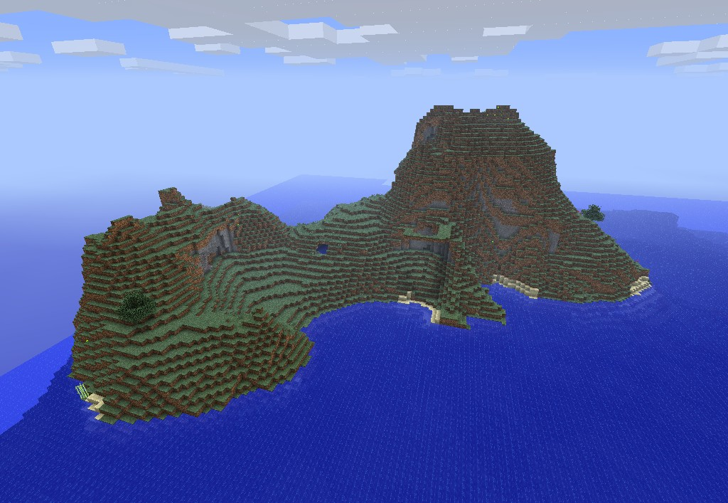 Mountainous Island.